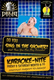 1-NEW KARAOKE FLYER FOR FRIDAY & SATURDAY