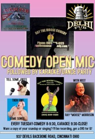 Delhi Pub New Open Mic Flyer