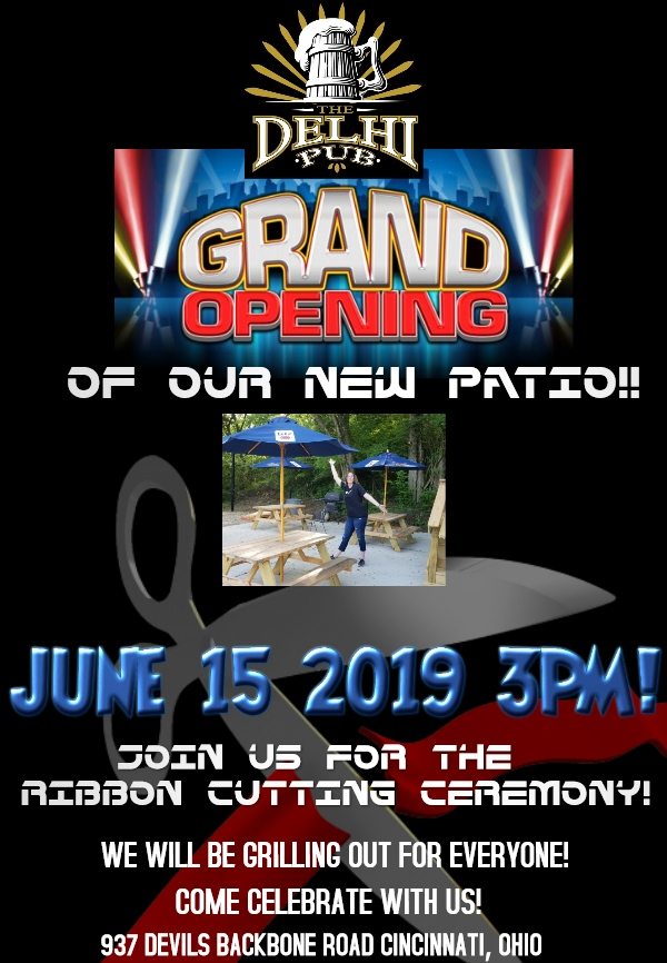 grand opening patio
