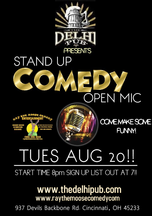 Open Mic August 20th